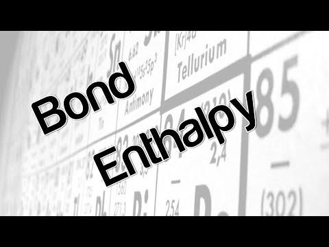 Bond Enthalpy