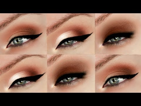 Hooded Eyes Eyeshadow Techniques - 3 Different Styles