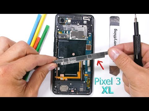 Pixel 3 XL Teardown - Can the scratches be removed?