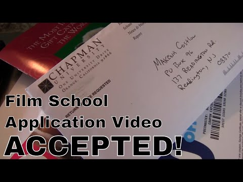 Chapman University Video Essay - Fall 2013 - ACCEPTED!