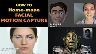 HOW TO - Homemade  Facial Motion Capture