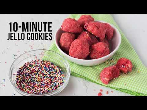10-Minute Jello Cookies