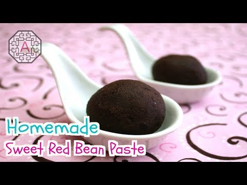 【Korean Food】 Homemade Red Bean Paste (팥 앙금)