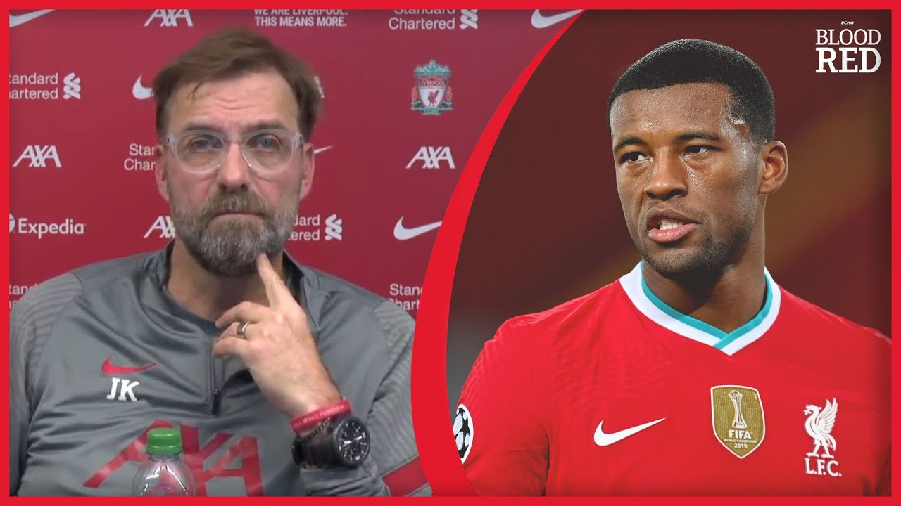 'ALL PLAYERS IN RED ZONE' | Jurgen Klopp asked about Gini Wijnaldum game time