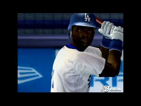 MVP Baseball 2005 GameCube Gameplay - Nice day for
