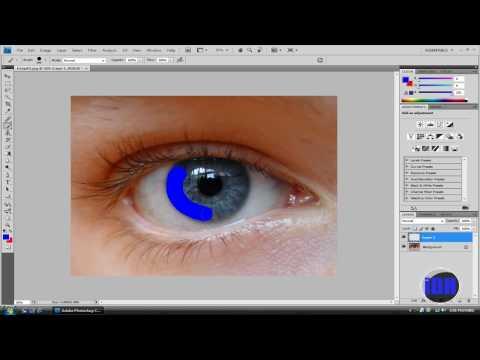 How To Change Eye Color Using Adobe PhotoShop CS4