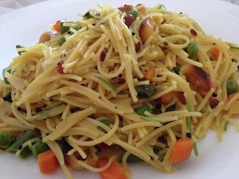 Recipe - Sevai Upma (हिंदी )