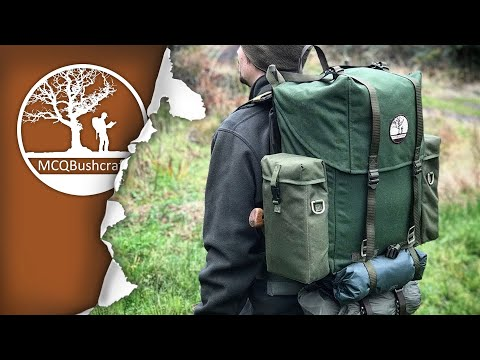 Bushcraft Backpack LK35 Frame Pack Modifications