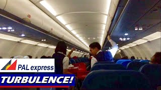 TURBULENCE: Philippine Airlines A321 to Manila