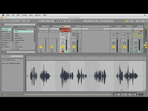 Ableton Live tutorial: Recording audio | lynda.com
