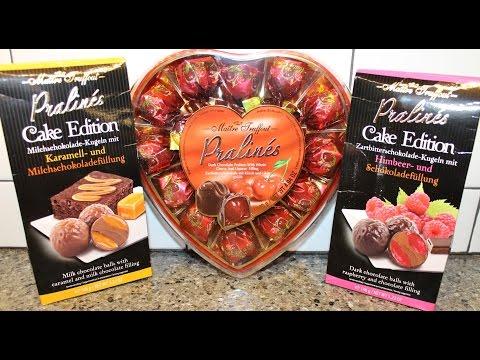 Maitre Truffout Pralines Cake Edition: Caramel & Raspberry & Chocolate Covered Cherries