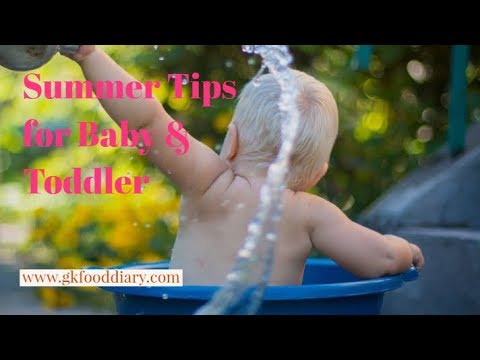 5 Tips for Baby and Toddler Care During Summer