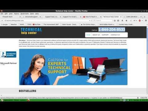 PHONE SCAMS: 1-844-845-4227 & 1-844-204-8533 - Technical Help Center / Windows Live Technicians SCAM