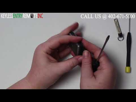 How To Change A Toyota Avalon Key Fob Battery 2005 - 2007