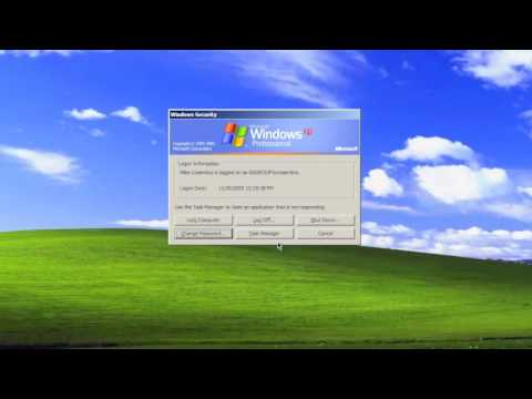 How To Change Your Network Password on Windows XP