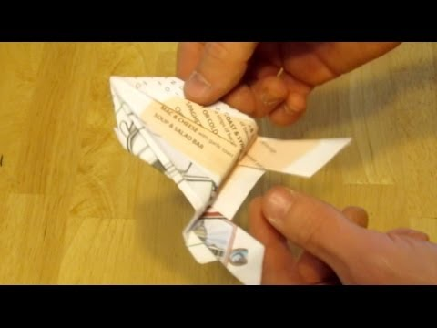 JUMPING PAPER FROG - Origami Fun Toys