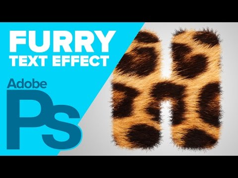 How to Create Furry Text in Photoshop
