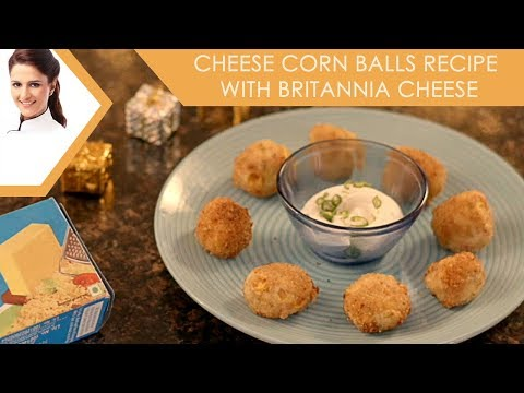Cheese Corn Balls Recipe with Britannia Cheese