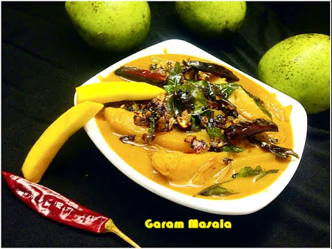 Pacha Manga Curry / Raw mango in thick coconut gravy