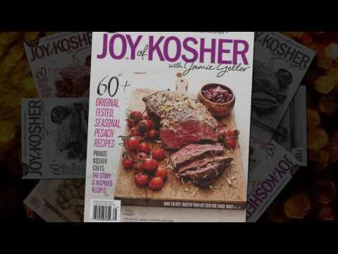 2017 Gluten Free Issue ~ Passover 2017   JOY of KOSHER Magazine
