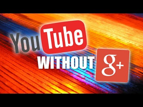 How to create a YouTube channel WITHOUT Google Plus (TUTORIAL)