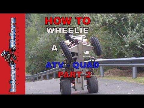HOW TO WHEELIE A ATV - QUAD (PART 2) DIRT BIKE FAILS - MOTOCROSS 2016 CRASHES - Yamaha Raptor 660