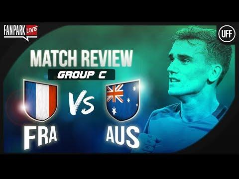 France 2 - 1 Australia - Full Time Phone In - FanPark Live