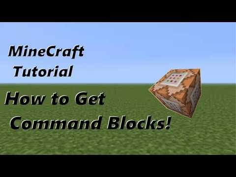 How to get Command Blocks in Minecraft 1.8.1