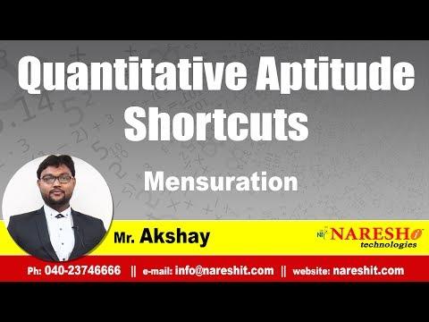 Mensuration | Quantitative Aptitude Tricks and Tips | Mr. Akshay
