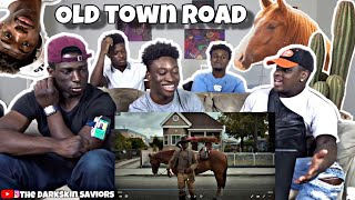 Lil Nas X - Old Town Road (Official Movie) ft. Billy Ray Cyrus(Reaction)