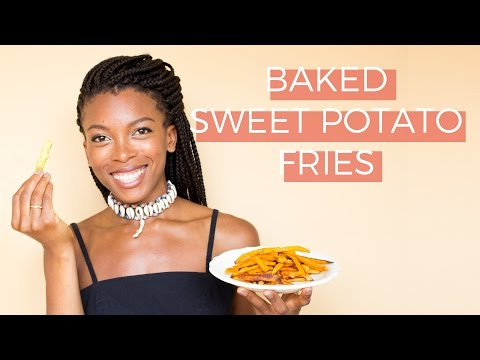 How to make Sweet Potato Fries + Three Vegan Dipping Sauces