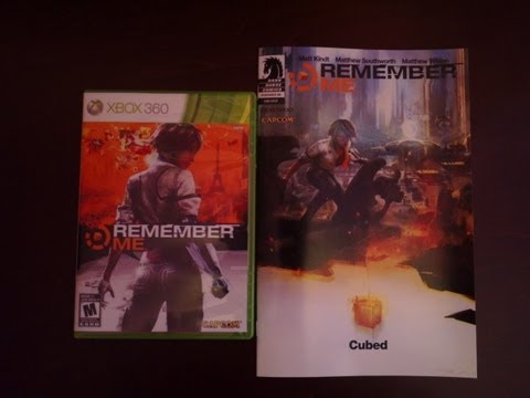 Unboxing: Remember Me With Pre-Order Bonus!