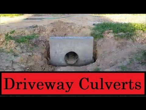 Installing Driveway Culverts