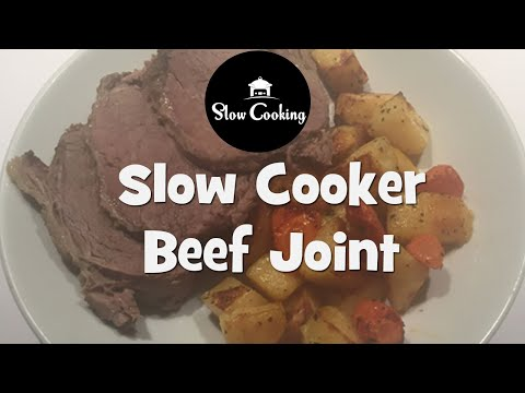 A Perfect Slow Cooker Beef Joint is full of Flavour and Melts in Your Mouth