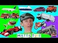 Download                Vehicles and Transport | Matt's Tube # 2 |  Learning Transportation, Learn English Kids MP3,3GP,MP4