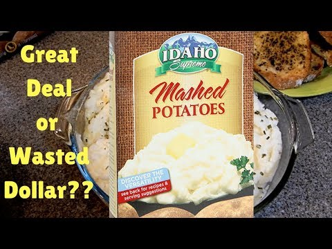 DollarTree...Idaho Supreme Mashed Potatoes | Great Deal Or Wasted Dollar??