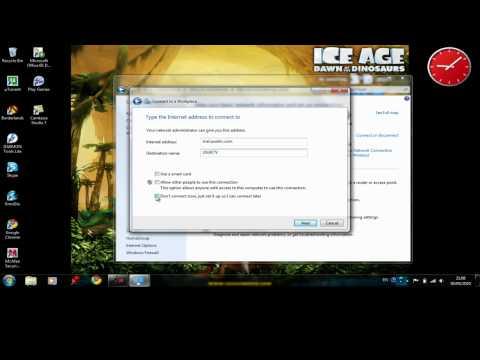 How to Configure Windows 7 VPN
