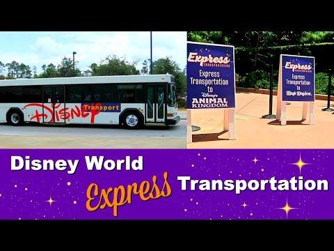 Disney World Express transportation bus service - SERVICE NOW DISCONTINUED