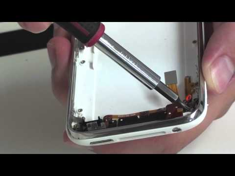 iPhone 3GS Powerbutton Headphone and Volume Key Assembly Removal.mov