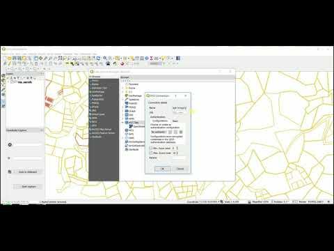 QGIS 3.0 Adding Google Imagery As A Layer