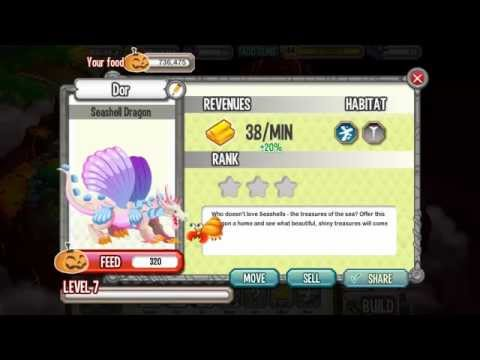 How To Get SEASHELL DRAGON in Dragon City By Breeding