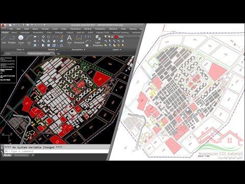 طريقة تحويل مخطط اتوكاد الى صورة عالية الدقة (Convert Autocad plan to high resolution image)