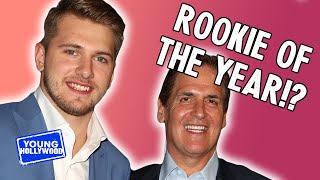 Luka Doncic & Mark Cuban Talk Rookie Of The Year & Hint Future Plans For Dallas Mavericks
