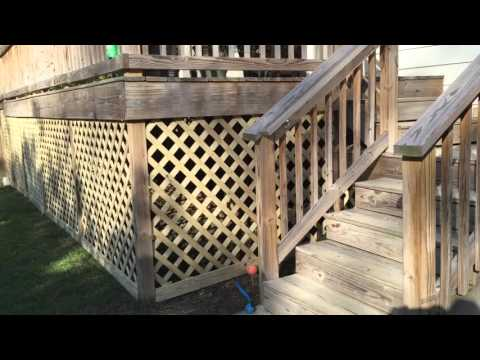 How To Build A Lattice Around The Deck