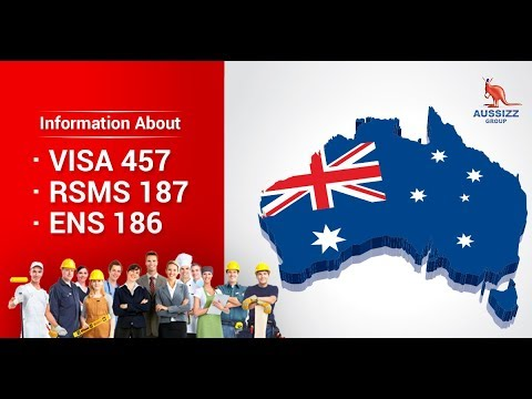 Information about VISA 457 - RSMS 187- ENS 186