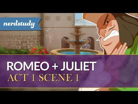 Romeo and Juliet Summary (Act 1 Scene 1) - Nerdstudy