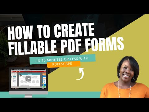 How to Create a Fillable PDF Form in LESS than 10 Minutes