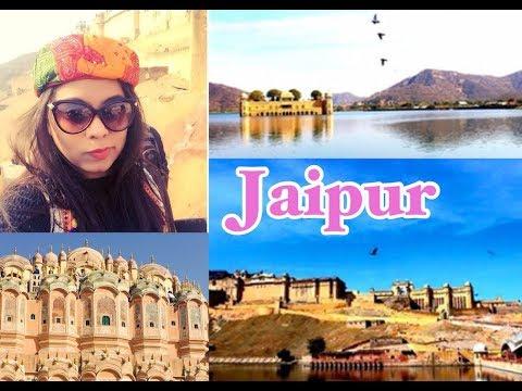 Jaipur Travel Vlog: Forts & Shopping || Travel Vlog 2018