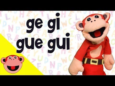 Xxx Mp4 Silabas Ge Gi Gue Gui El Mono Silabo Videos Infantiles Educación Para Niños 3gp Sex