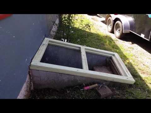 Cellar or Basement Door Replacement